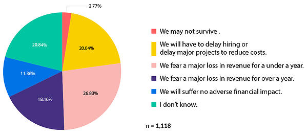 Pie Graph - Financial Stress Caused by the Pandemic-2