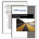 Screenshot Road mapto Resuming Operations Guide